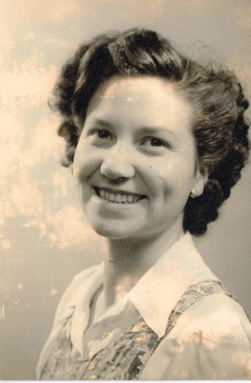 Aunty Muriel Aged 19